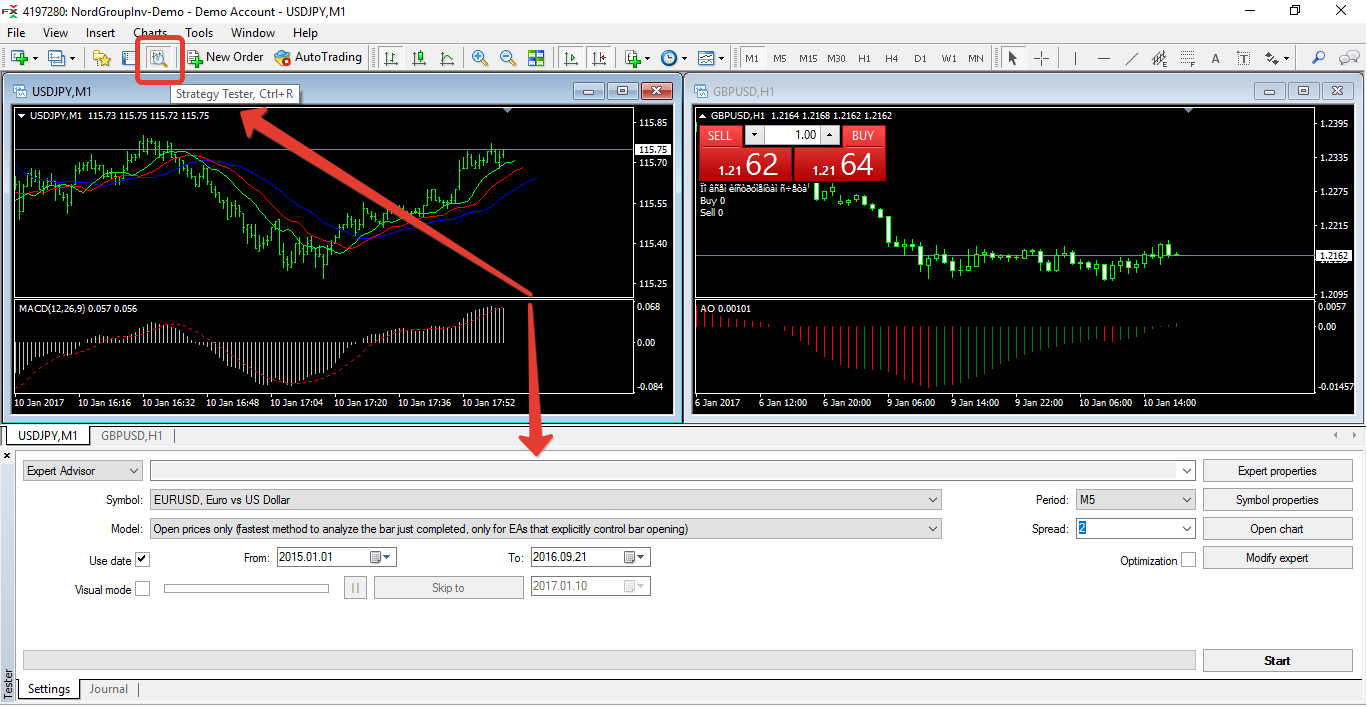 Technical Impact Analysis Template Metatrader Terminal