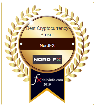 NordFX Is Named the Best Cryptocurrency Broker for the Third Year in a Row