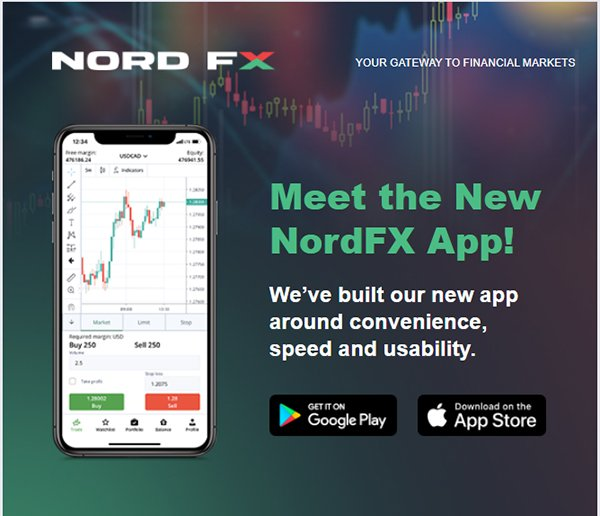 New Mobile App from NordFX1
